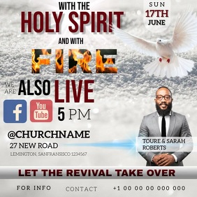 CHURCH PENTECOST PENTECOSTAL FIRE TEMPLATE