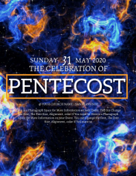 Church Pentecost Sunday Event Template