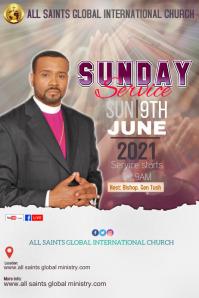 Church Poster Template Plakat