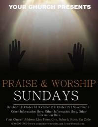 Church Praise & Worship Event Video Template
