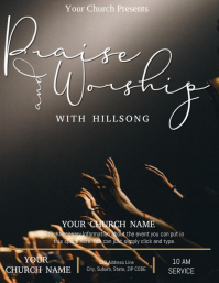 Church Praise and Worship Event Template