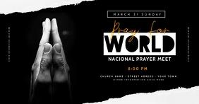 Church Pray facebook Flyer Templates