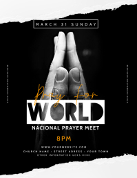 Church Pray Flyer Template