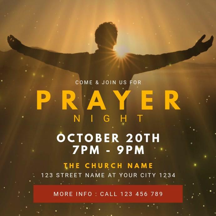 Church Prayer Night