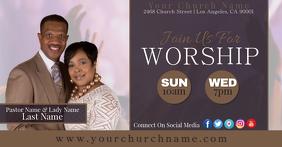 church service flyer