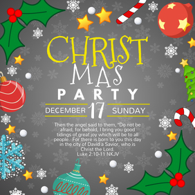 Church's Christmas Party