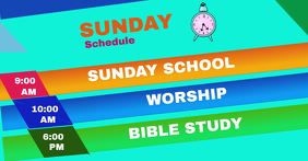 Church schedule FB