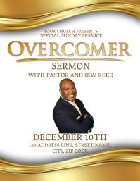 Church Sermon Flyer Template