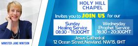 Church Service Event Banner Template
