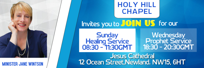 Church Service Event Banner Template