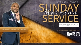 CHURCH SERVICE SERMON TEMPLATE Gambar Mini YouTube