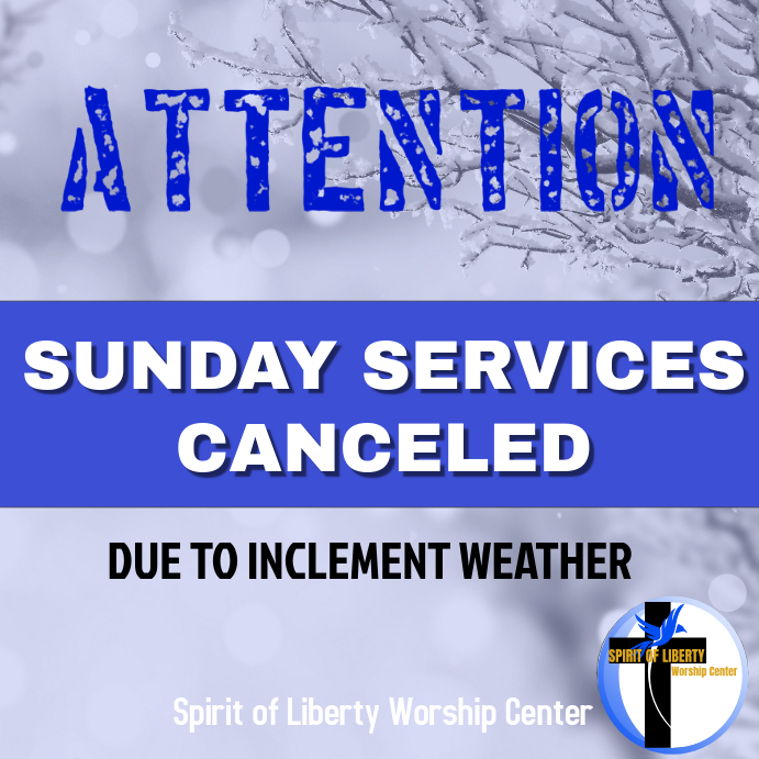 Church services canceled