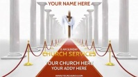 CHURCH SERVICES Pantalla Digital (16:9) template