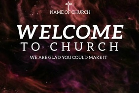 Church Slide Template Plakkaat
