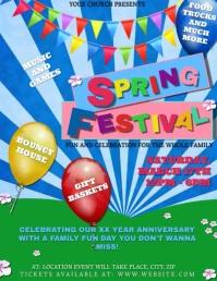 Church Spring Festival Event Template