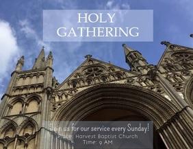 Church Sunday Invitation Template