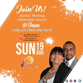 Church Sunday Morning Service Template