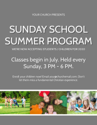Church Sunday School Program Event Template
