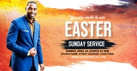 Church Sunday Service ads Facebook Advertensie template