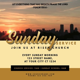 Church Sunday Service