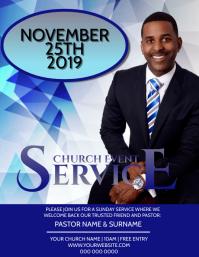 Church Sunday Service Event Template
