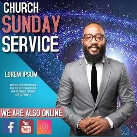 CHURCH SUNDAY SERVICE TEMPLATE