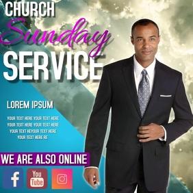 CHURCH SUNDAY SERVICE TEMPLATE