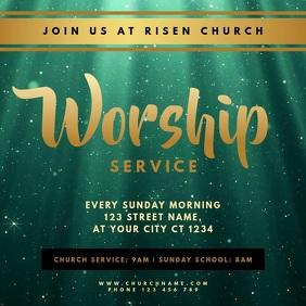 Church Sunday Service Worship
