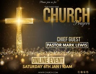 Church Template Flyer (US Letter)