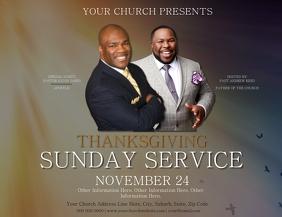 Church Thanksgiving Service Template
