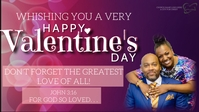 CHURCH VALENTINE'S MESSAGE template Facebook-covervideo (16:9)