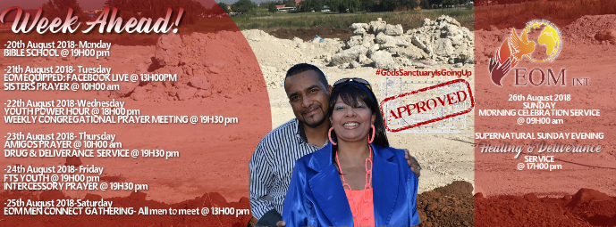 Church Week Ahead Flyer Facebook cover Template