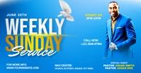Church weekly service ads Iklan Facebook template