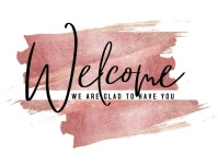 CHURCH WELCOME Flyer (format US Letter) template