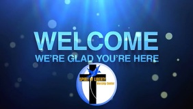 Church welcome video template