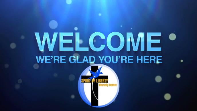 Church welcome video