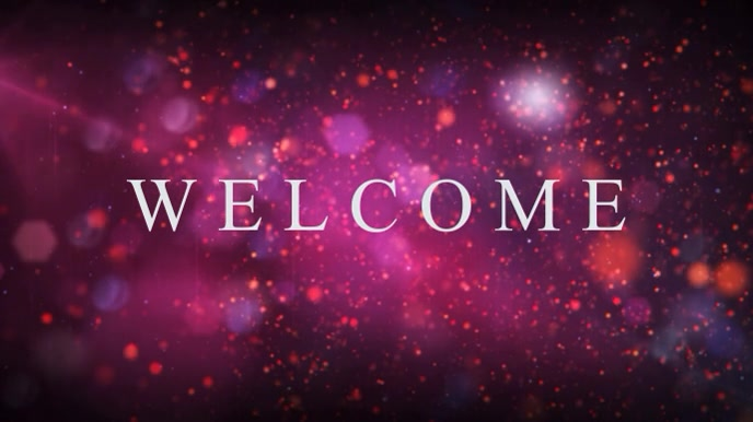 Church Welcome Digital Display Video Template