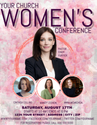 Church Women's Conference Flyer Template