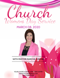 Church Women's Day Service Event Template