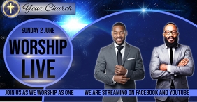 CHURCH WORSHIP EVENT SOCIAL MEDIA TEMPLATE