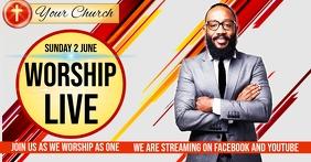 CHURCH WORSHIP EVENT SOCIAL MEDIA TEMPLATE