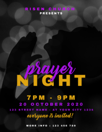 Church Worship Prayer Night