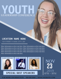 Church Youth Conference Flyer Template