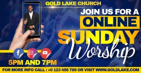 CHURCH YOUTUBE THUMBNAIL TEMPLATE Facebook Shared Image