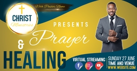 CHURCH YOUTUBE THUMBNAIL VIDEO TEMPLATE Facebook Shared Image