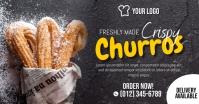 Churros Social Media Ad Template Facebook Shared Image