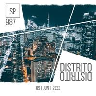 Cidade Pos Instagram template