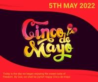 Cinco de mayo,event,festival Large Rectangle template