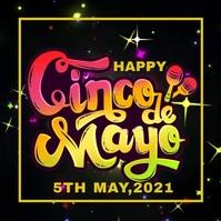 Cinco de mayo,event,festival Publicação no Instagram template
