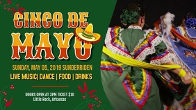 Cinco de Mayo Ad Facebook Cover Video
